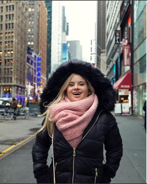 """sofia - """"Nací para esto"""": ella es Sofía Jirau, la modelo con Síndrome de Down que arrasó en la Fashion Week de NY - #Noticias"""
