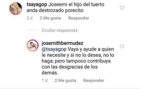 """josemith hijo - """"Y si te he visto no me acuerdo"""": Josemith Bermúdez ya no es amiga del hijo del """"Tuerto"""" Andrade"""