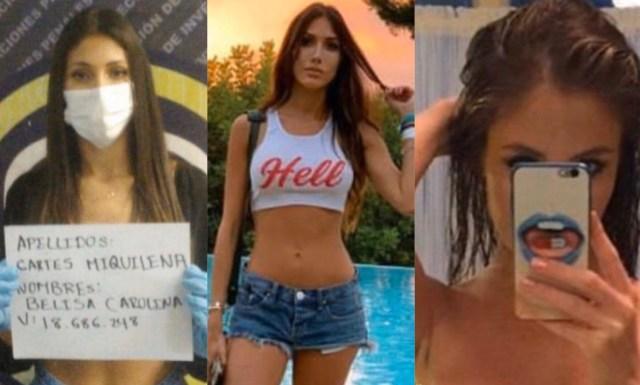 """img 3245 - Filtraron """"pack"""" de fotos íntimas de Belisa Cartes, la modelo de la fiesta en Los Palos Grandes"""