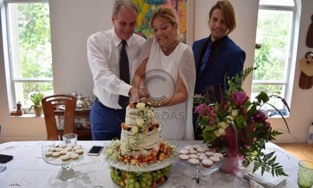 29474E6C A14A 4447 B4BC 370A715FB329 - Revelaron fotos de la misteriosa boda de la actriz venezolana Belén Marrero