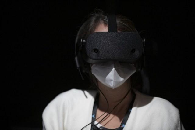 000 8PZ2LY - Con realidad virtual, Dudamel convierte al público en miembro de su orquesta (Fotos)