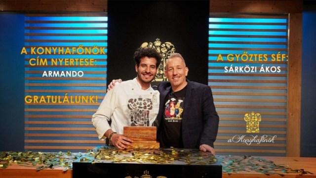 armando mundarain - ¡Orgullo venezolano! Armando Mundarain se coronó en la final del MasterChef en Hungría