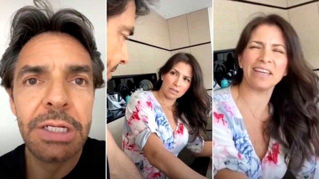Alessandra Rosaldo Eugenio Derbez - Las reacción de Alessandra Rosaldo a la broma de Eugenio Derbez en TikTok