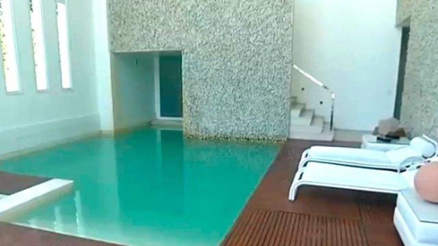 Casa de Xuxa 3 - Playa, estudio de fotografía y una selva en medio de la sala (FOTOS)