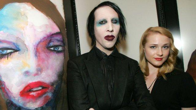 L2VQ46WQWJBFZISE3PQPIYXMFI - Tras la denuncia de Evan Rachel Wood, Marilyn Manson se quedó sin discográfica