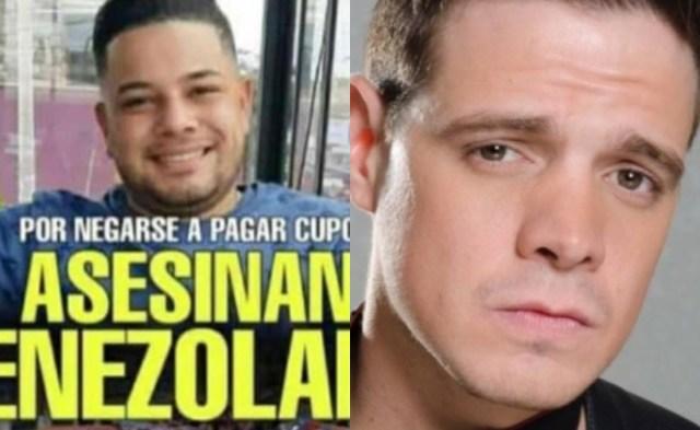 Marko - Marko Música publica dantesco video de cómo asesinan a un venezolano en Perú y pide justicia