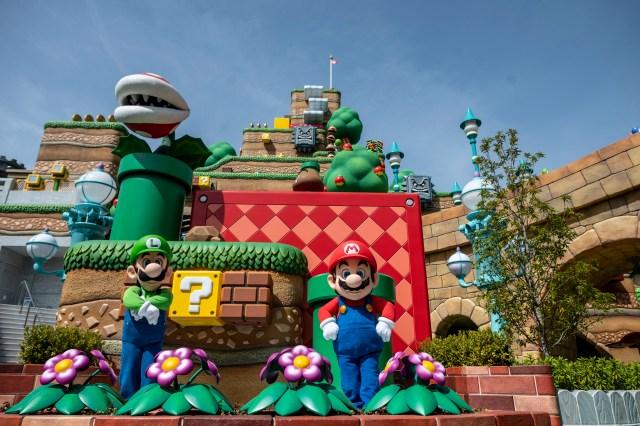 000 966973 - Abre en Japón el primer parque temático de Nintendo (FOTOS)