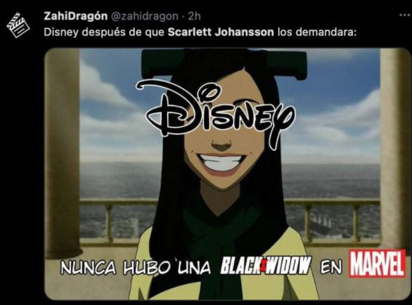 meme 10 - Los mejores MEMES que dejó la demanda de Scarlett Johansson a Disney