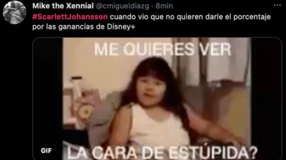 meme 7 - Los mejores MEMES que dejó la demanda de Scarlett Johansson a Disney