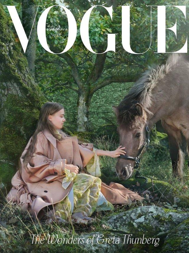 UOKI7K3M2JCXNMXBZ63SY2YROQ - Greta Thunberg apareció en la portada de la revista Vogue (FOTOS)