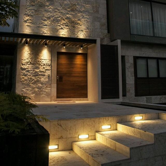 ILUMINACIN DE EXTERIOR Buenas ideas para iluminar jardines Fotos