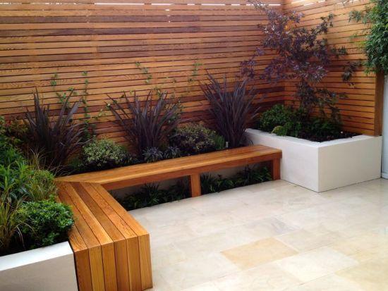 Cerramientos jardines - madera tratada
