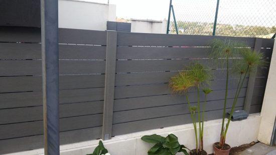Cerramientos verticales con material composite sin mantenimiento