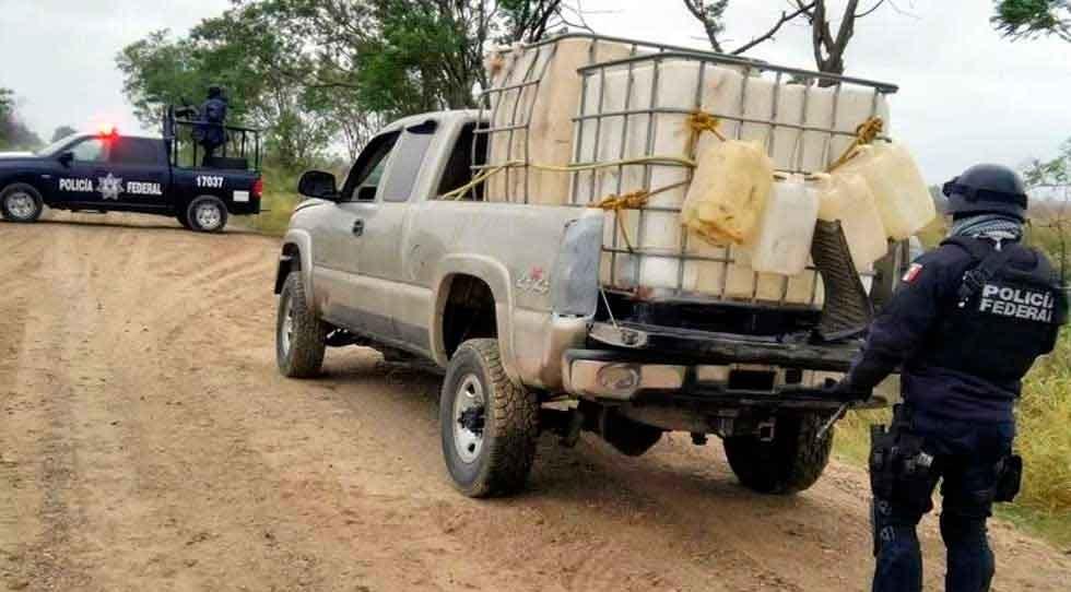 En 2 años decomisó CES más de 335 mil litros de combustible robado