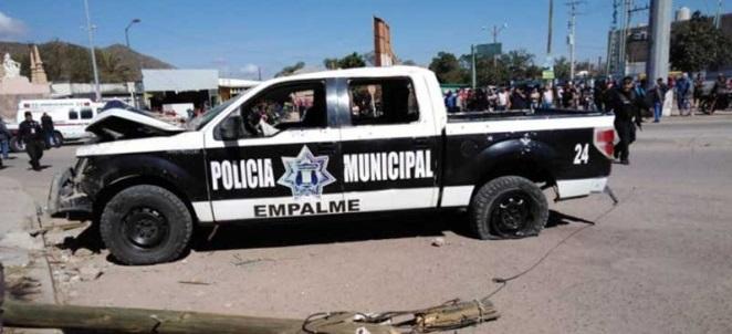 Comandante de Empalme Sonora y escolta son ejecutados a bordo de patrulla