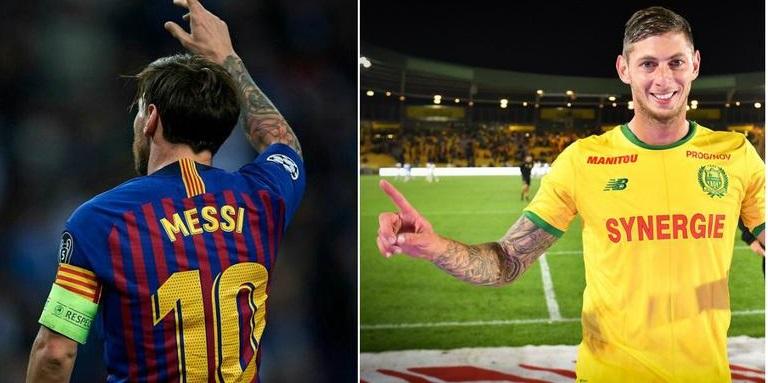 Messi pide continuar con la búsqueda de Emiliano Sala