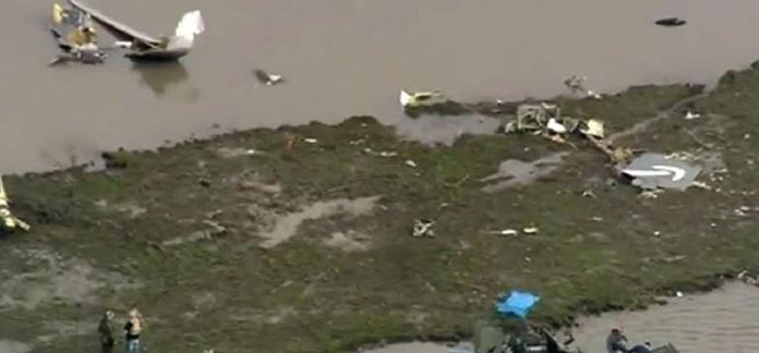 Se estrella avión de carga que se dirigía a Houston