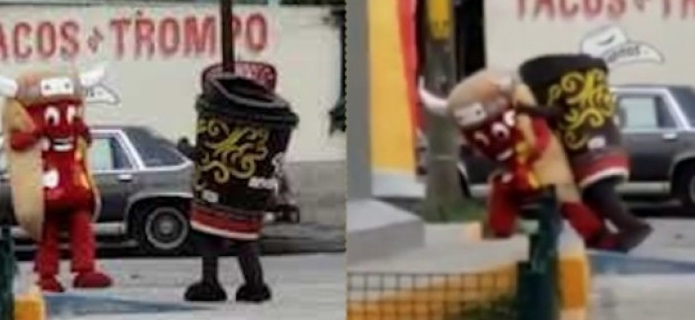 Video: dogo del oxxo noquea a café andatti en batalla del siglo