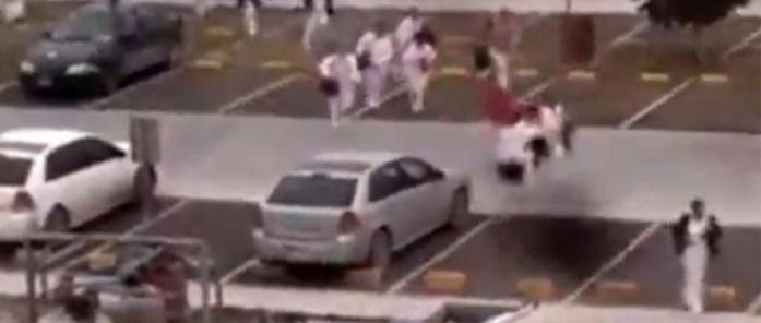 Causa pánico balacera en imss de Reynosa