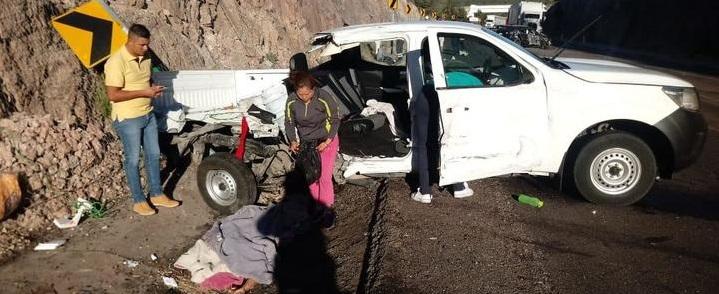 Trágico accidente en la carretera Durango-Mazatlán