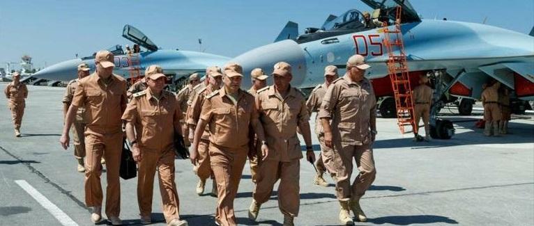 Sistemas de defensa de Rusia repelen ataque en base aérea en Siria
