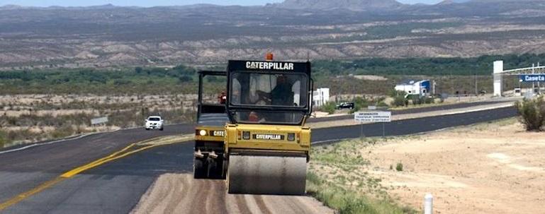 Rehabilitan carretera Chihuahua-Ojinaga con inversión de 32 mdp