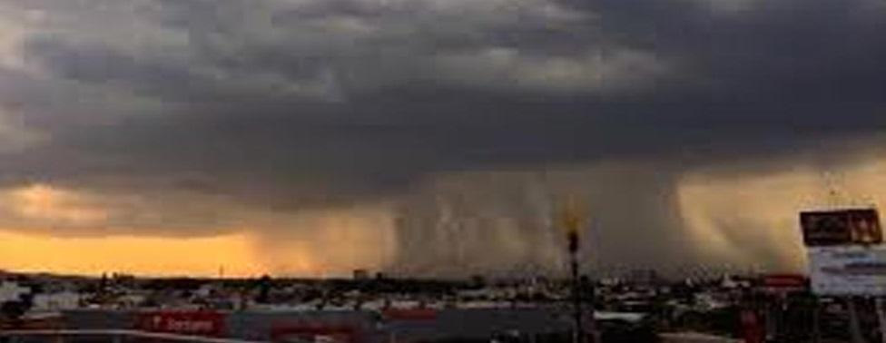 Advierte Protección Civil de vientos, lluvias y granizo para este martes y miércoles