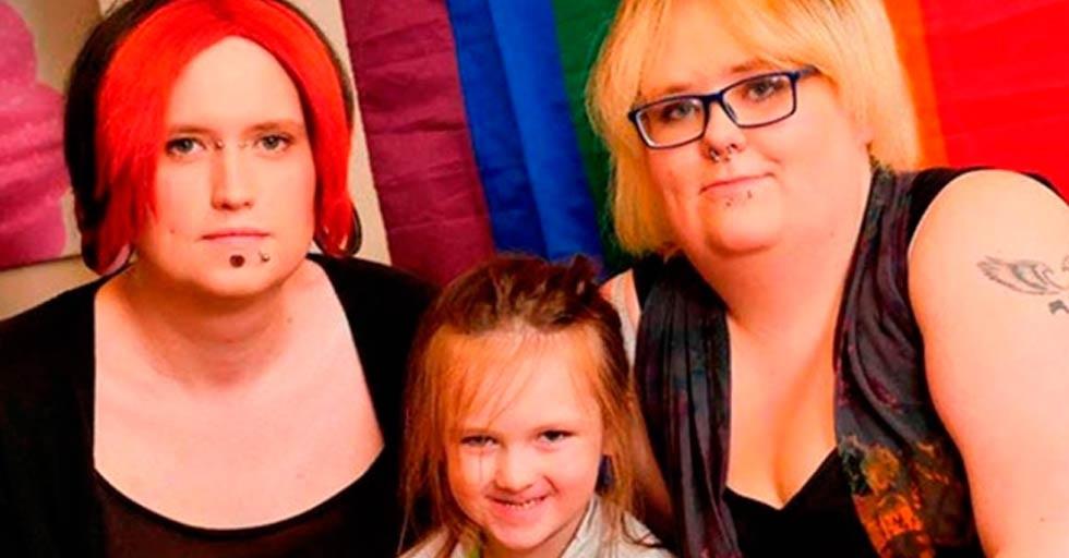 Son una familia de 'género fluido': un día se sienten hombres y otro mujeres