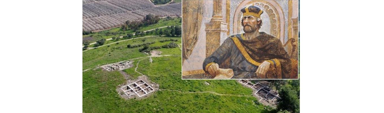 Encuentran restos de la ciudad donde se resguardó el Rey David