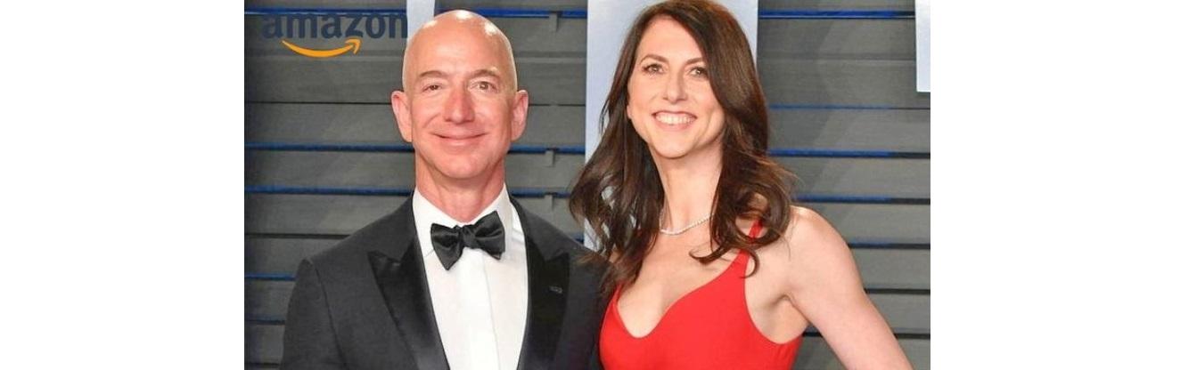 Firma Bezos el divorcio más caro de la historia: US$38 mil millones