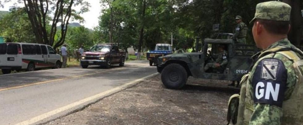 Sitia Guardia Nacional finca en Jiménez