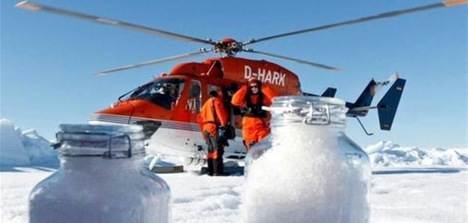 Detectan científicos plástico en nieve