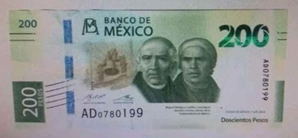¡Adiós Sor Juana!: nuevo billete de 200 pesos llegará la próxima semana