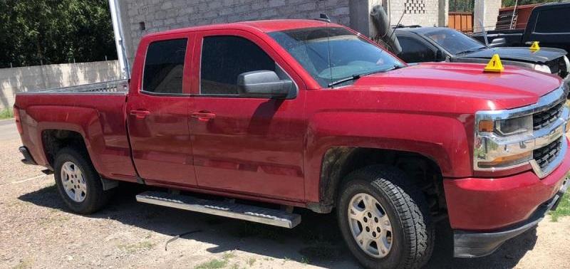 Aseguran en Jiménez vehículos robados, un arma de fuego, equipo táctico y combustible