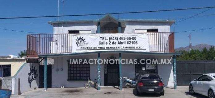 Se fugan internos de centro de rehabilitación en Camargo