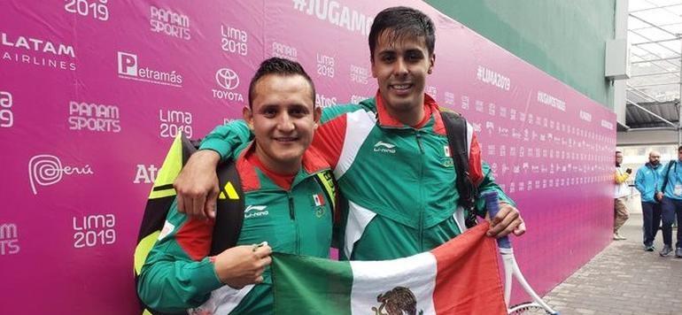 Josué y Luis ganan el oro 32 para México en frontón