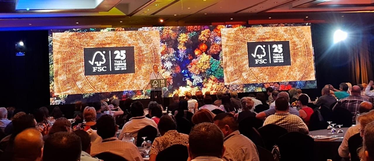 Participa el Ejido Caborachi en la celebración del 25 aniversario de FSC, en la Cd. de Cancun, Quintana Roo