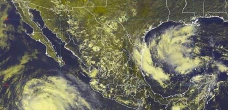 Juliette se debilita; baja a categoría 1 y se aleja de México
