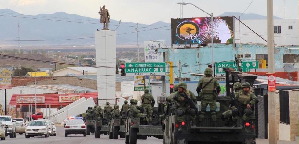 Llega la Guardia Nacional a Cuauhtémoc