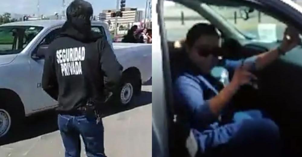 Ordena guardia nacional multar a funcionarios mal estacionados