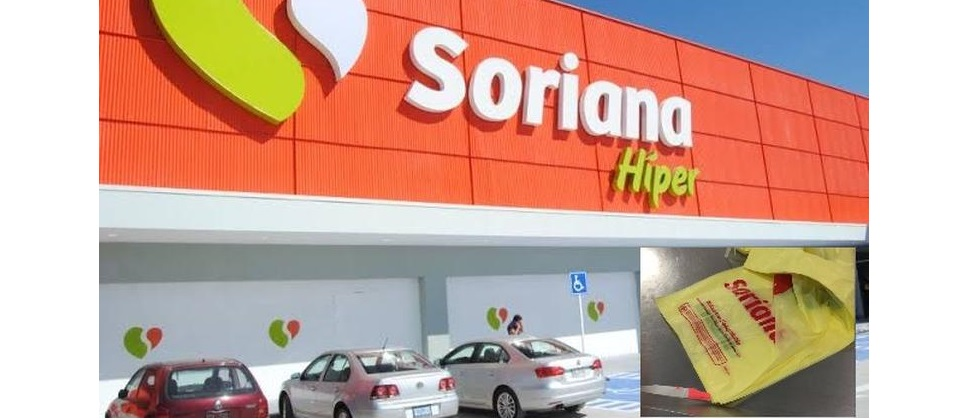 Soriana eliminará las bolsas de plástico de cajas para 2022
