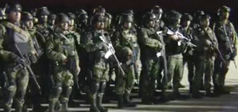 Llegan 230 militares a Culiacán