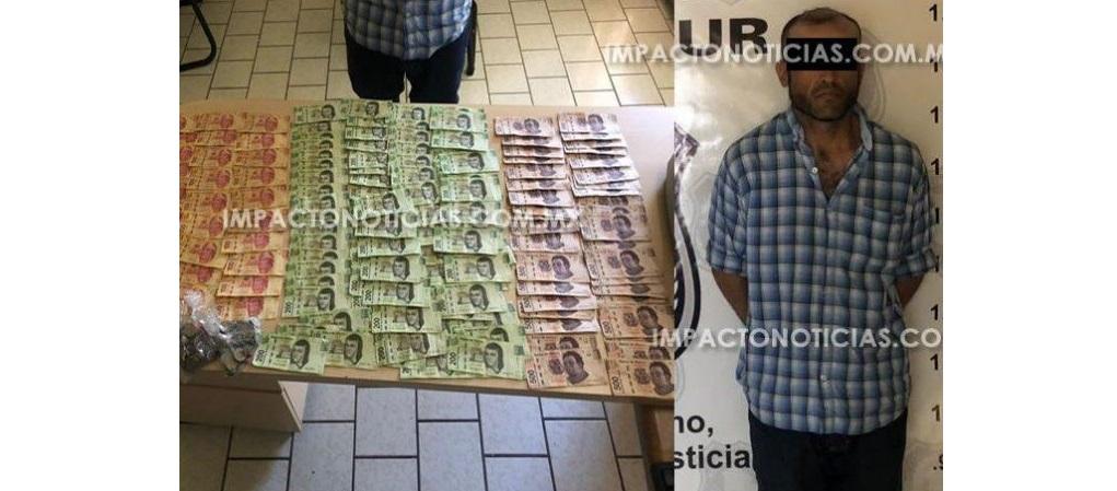 Arrestan empleado de pollo feliz por robo de $40 mil pesos en sucursal