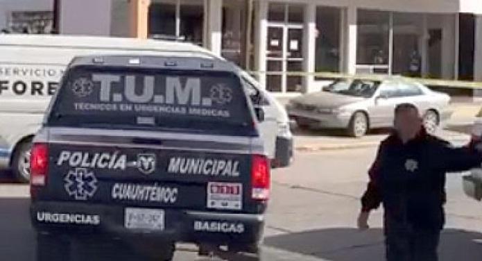 Ejecutan a balazos madre e hijo en Cuauhtémoc