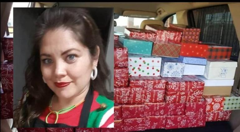 La arrestaron en Matamoros cuando llevaba regalos a niños migrantes