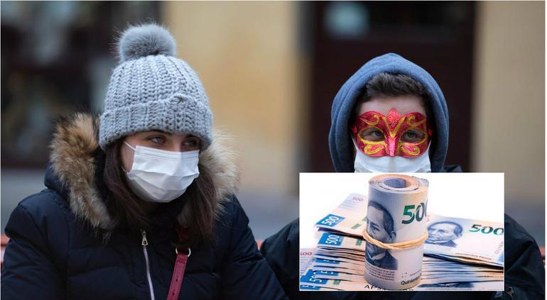 Avanza coronavirus en Europa y dólar sube de precios