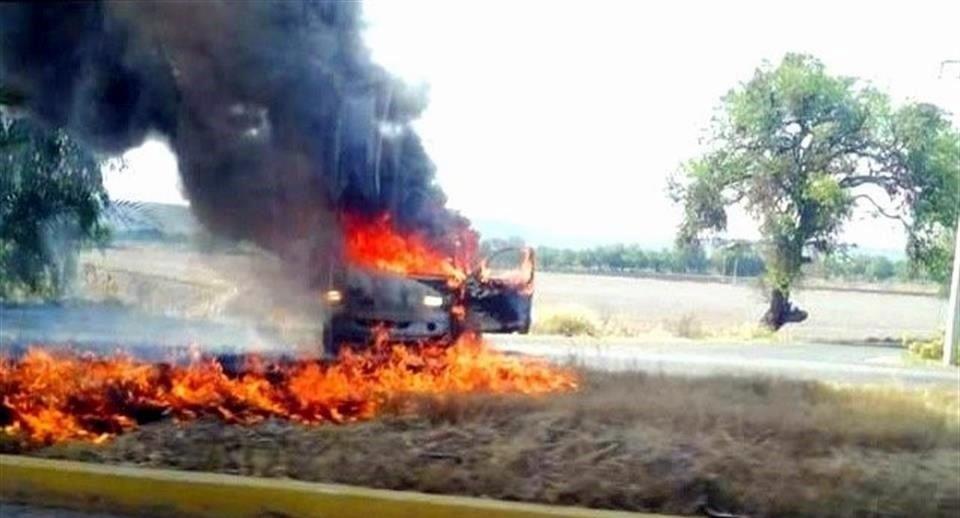 Reportan narcobloqueos en Guanajuato