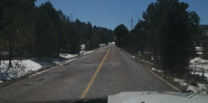 Reanudan circulación en carretera del municipio Ocampo