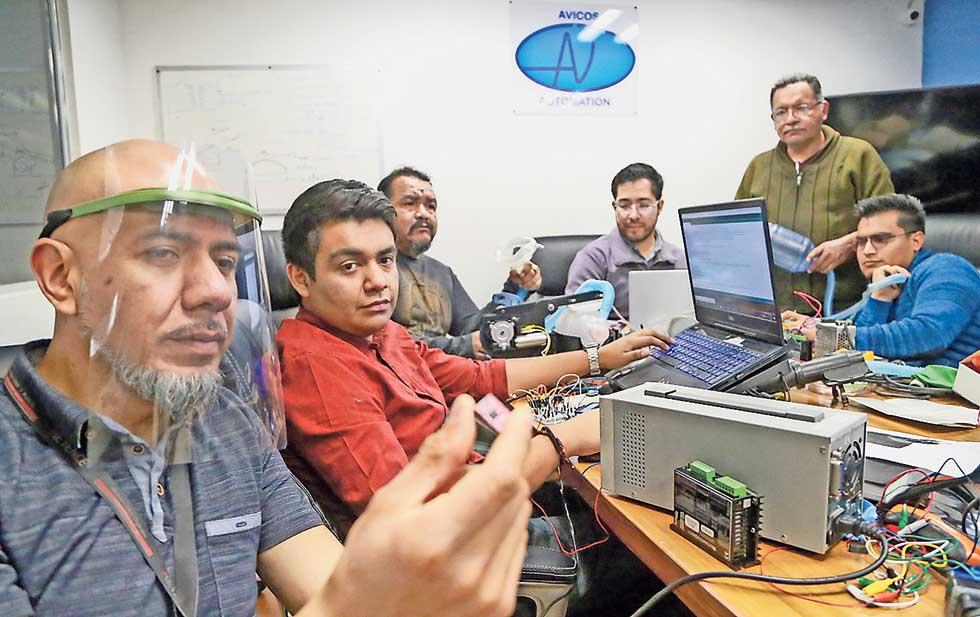 Ingenieros crean Respirador Artificial Básico de bajo precio