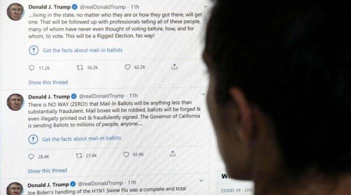 Amenaza Trump con regular o cerrar empresas de redes sociales